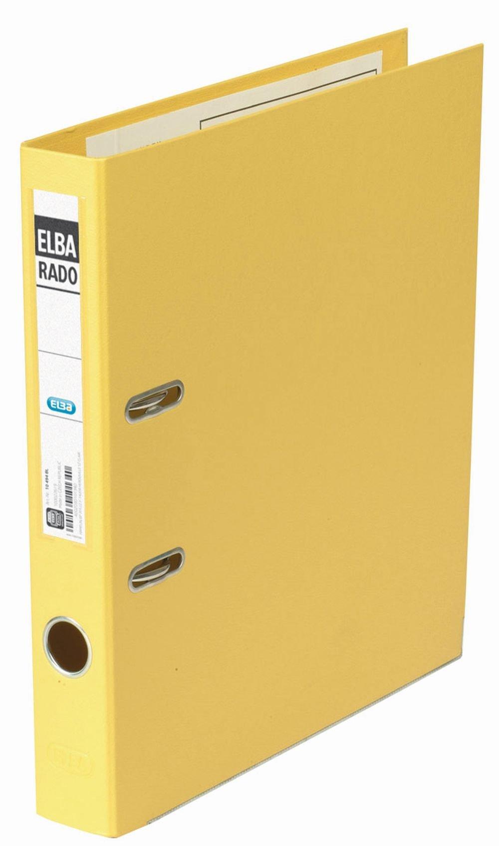 Elba 10494GB Folder Plastic A4 Width 50 mm Yellow