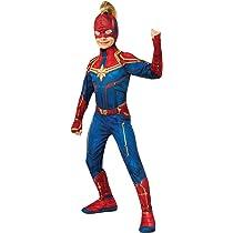 Rubies Captain Marvel Disfraz, Multicolor, Estándar (200293 ...