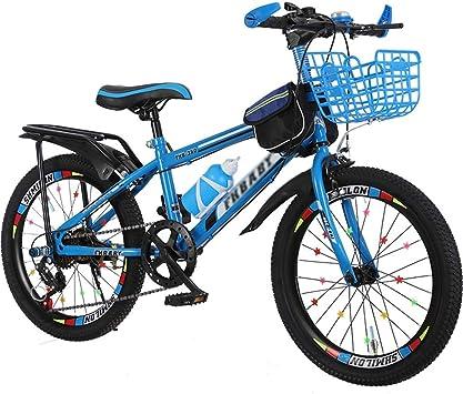WJSW Bicicleta Niño 18 Pulgadas 20 Pulgadas 22 Pulgadas Niño Niña ...