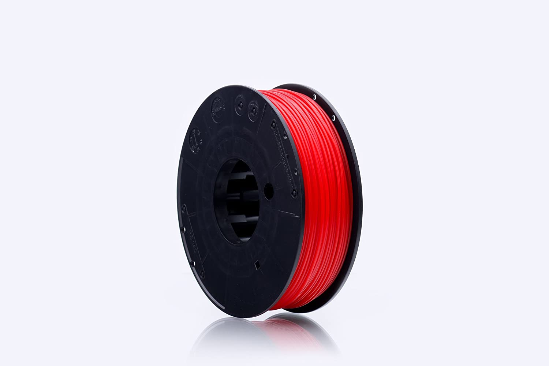 print-Me 5906190615282 Filament fü r 3D Drucker EcoLine PLA 1.75 mm, Neon Red POLIGRAF