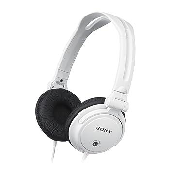 d3b86ffc2ac Sony MDR-V150W - Auriculares de diadema cerrados, blanco: Sony: Amazon.es:  Electrónica