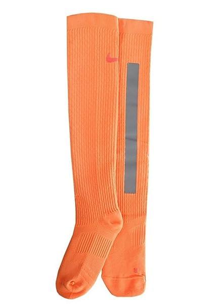 Nike Elite Acolchado Formación de Alta Intensidad Calcetines por Encima de la Pantorrilla Unisex tamaño Mediano
