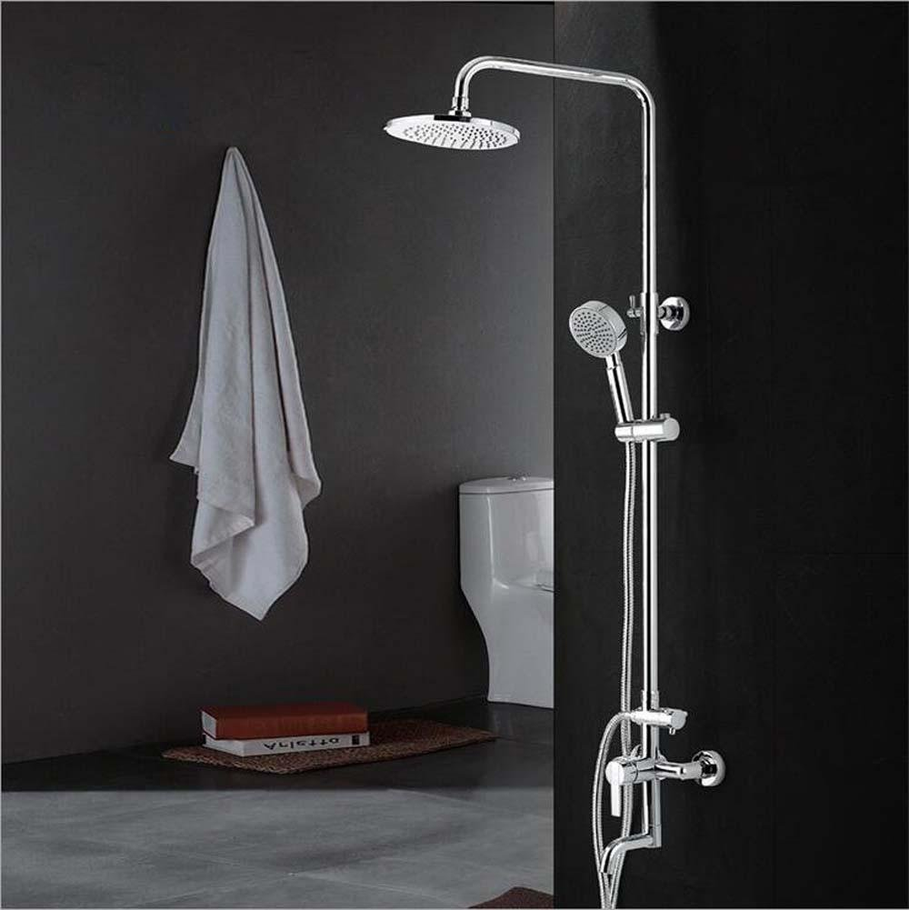 Wall mounted shower mounted 180 degree rotating copper base shower top shower set-Ten years warranty hot sale