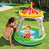 "Intex Royal Castle Baby Pool, 48"" x 48"", for Ages 1-3"