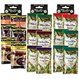 3 Boxes (18 Packets): Walden Farms Salad Dressing 1 Oz Packets (Assorted Flavor)