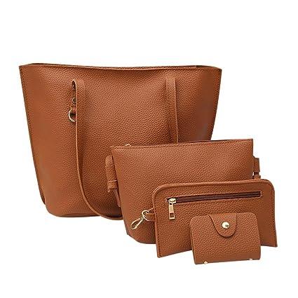 Amazon.com  Clearance!Women Four Set Handbags 7e3773abfd926