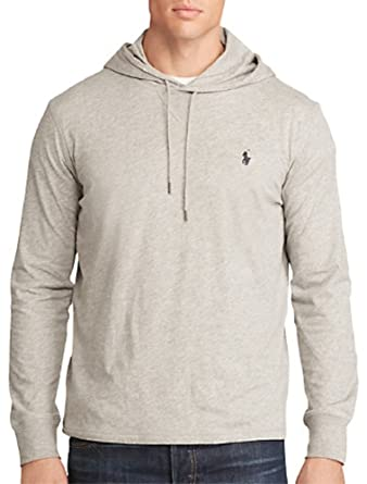 1acb6a2be Polo Ralph Lauren Men s Featherweight Pima Cotton Hoodie T-Shirt (X-Small