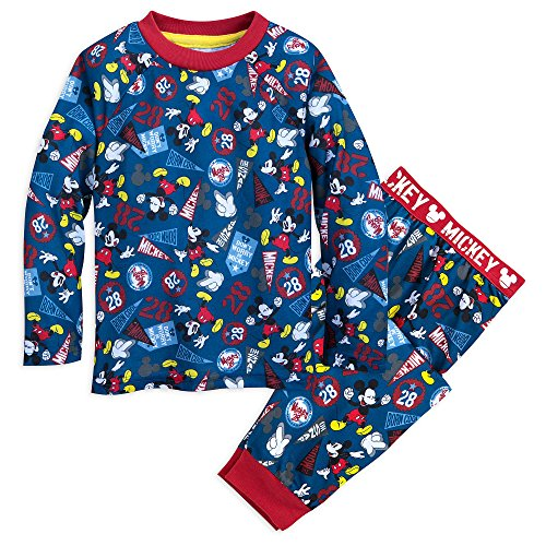 Disney Mickey Mouse Sleep Set for Boys Size 7/8 Multi]()