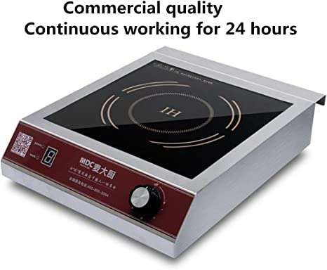 Amazon.com: MDC 3500 vatios Comercial Induction Cooktop ...