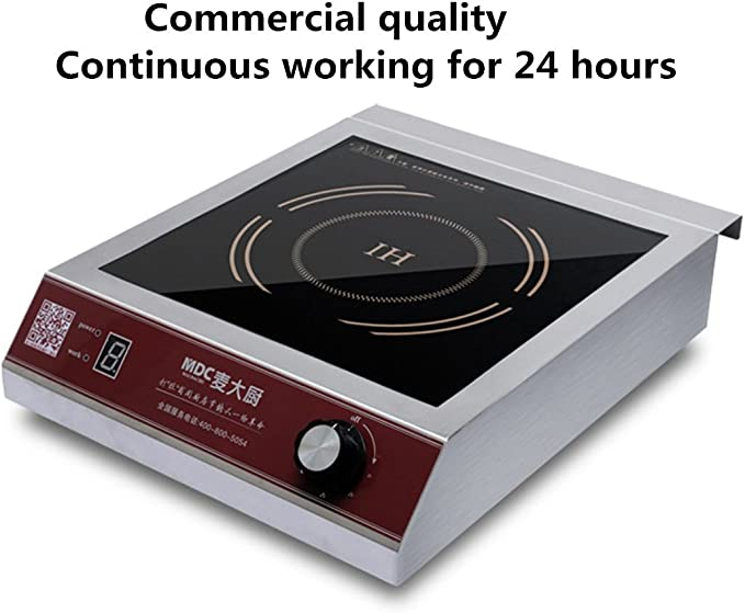 Amazon.com: MDC 3500 vatios Comercial Induction Cooktop ...
