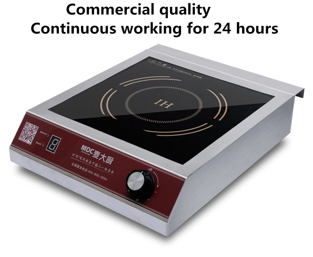 Attractive Amazon.com: MDC 3500 Watt Commercial Induction Cooktop Burner, Induction  Hot Plate: Appliances