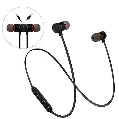 Auriculares inalámbricos AFRGZFOR Bluetooth magnético Deporte In-Ear IPX 4 Auriculares a prueba de sudor