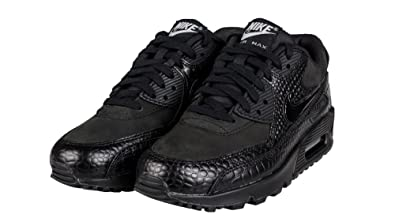 premium selection 112d1 b45e2 Nike Air Max 90 Premium Wmns Sneaker Black 443817 003, Size 35.5
