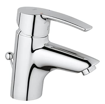 Grohe 33552001 Eurostyle Basin Tap Pop Up Waste And