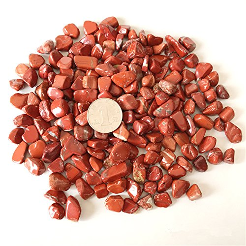 - AITELEI 1 lb Natural Red Jasper Tumbled Chips Crushed Stone Healing Reiki Crystal Irregular Shaped Stones Jewelry Making Home Decoration