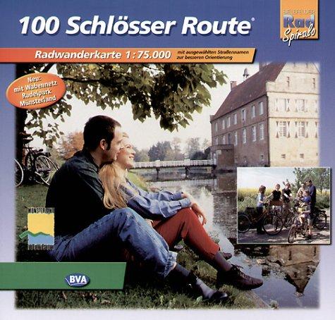 100 Schlösser Route: Randwanderführer 1:75000
