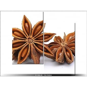 art-gallery XXL – 60 x 60 cm – Blume – Anis – Tabelle Multi ...