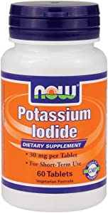 Potassium Iodide Now Foods 60 Tabs