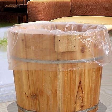 ClifcragrocL - Juego de 80 bolsas desechables para bañera de ...