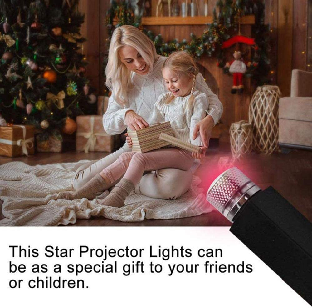 Adjustable Romantic Galaxy Flexible Interior Car Lights Womdee Auto Roof Star Projector Lights Ceiling Bedroom Party Plug and Play Ceiling Decoration Light Interior Ambient Atmosphere for Car