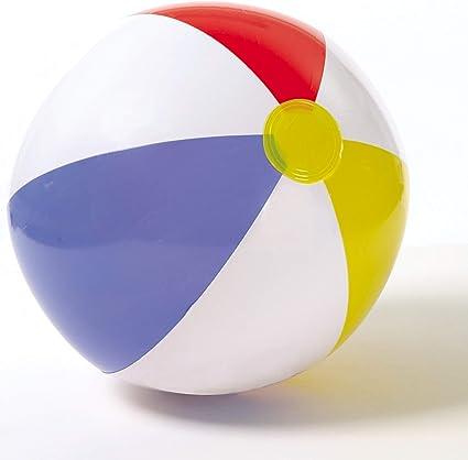 Aufblasbares Wasserball Regenbogen Spielzeugball Strandball PVC Ball Fußball