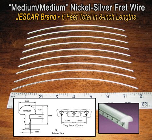 nickel silver guitar fret wire