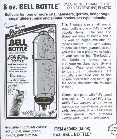 Kordon Oasis (Novalek) Bell Bottle 8oz ()