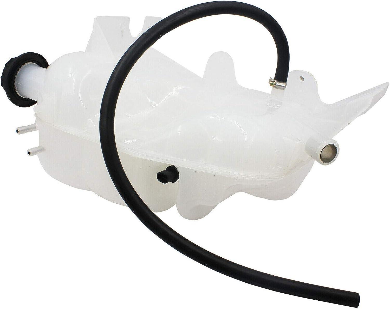 LOSTAR Heavy Duty Pressurized Coolant Reservoir For 2002 2003 2004 2005 2006 2007 2008 2009 2010 2011 2012 2013 2014 2015 2016 International 3200 4300 4400 8500 603-5104