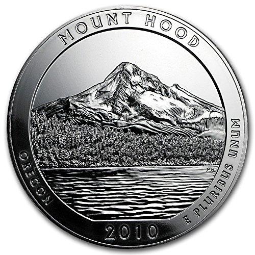 2010 S Mount Hood National Park Quarter Seller Proof