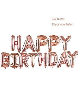 RWEV 1Pc Globo De 2 ° Cumpleaños Happy Years 2 Decoraciones ...