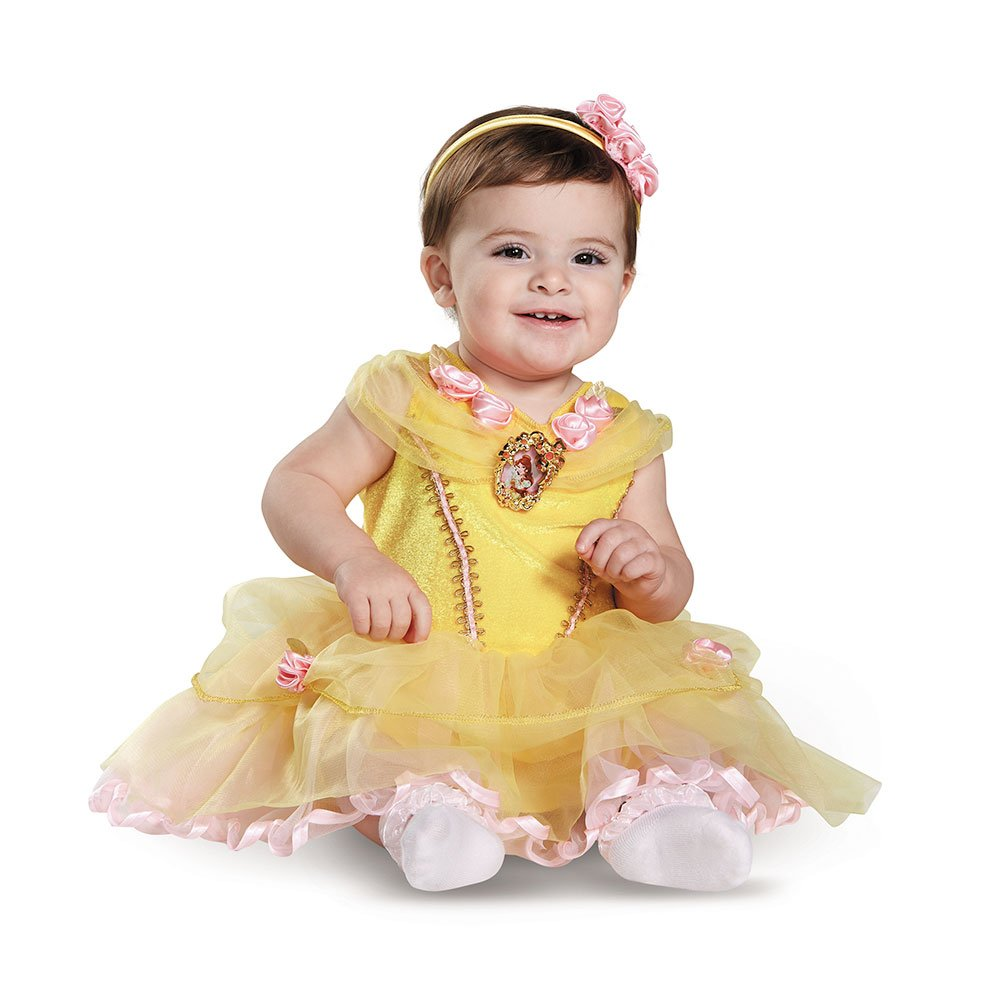 d08328d65 Amazon.com  Disney Baby Girls  Belle Infant Costume  Clothing