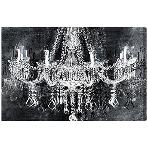 Crystal Attraction' Contemporary Canvas Wall Art Print for Home Decor and Office. The Fashion Wall Decor Collection by The Oliver Gal Artist Co. Gallery Wrapped and Ready to Hang. 24x16 (Fashion Gal)