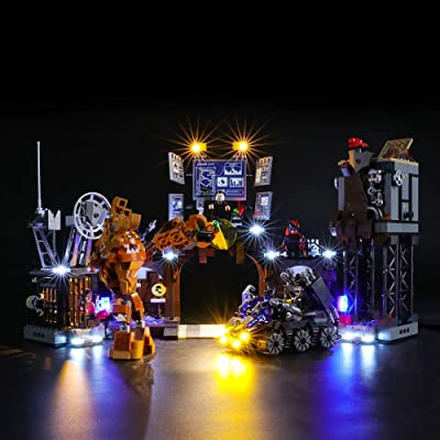 BRIKSMAX Led Lighting Kit for Batcave Clayface Invasion - Compatible with Lego 76122 Building Blocks Model- Not Include The Lego Set: Toys & Games