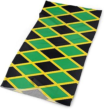 ulxjll Pañuelo Bandera de Jamaica Patrón Diadema Multi Bufanda Sombreros Pañuelos Mascarilla Máscara Cuello Polaina: Amazon.es: Deportes y aire libre