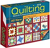 Quilting Block & Pattern-a-Day 2018 Calendar