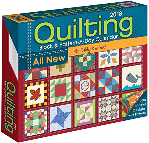 Quilting Block & Pattern-a-Day 2018 (Calendar Pattern)