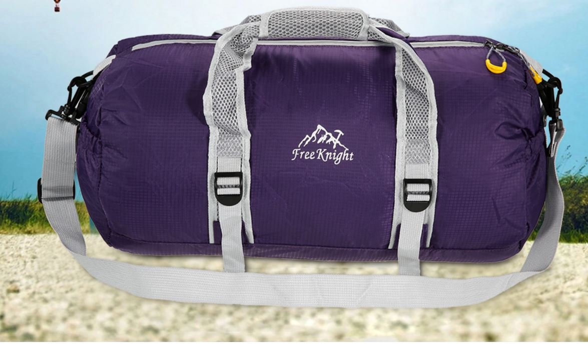 Free Knight Brand Large Gym Bag Sports Basketball Bag Round Women Fitness Yoga Bag Sports Bag for Travel and Outdoor Sports
