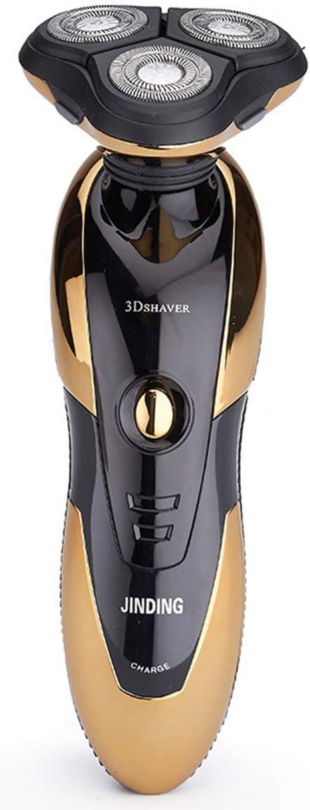 QXue - Afeitadora eléctrica para hombre, Anself con cabezal caliente giratorio, cortapelos inalámbrico para nariz, trimmer con 4D flotante
