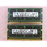 Lenovo 8GB 2 x 4GB PC3-10600S DDR3 1333 SODIMM Laptop Memory Kit 55Y3714 Samsung