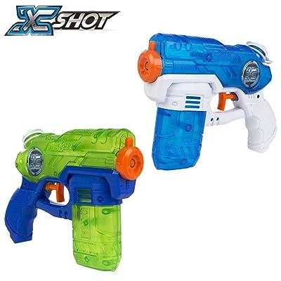 ZURU X-Shot Water Blaster Gun Double Small Stealth Soaker Water Gun Blaster: Toys & Games