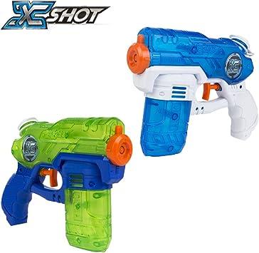 XShot - Pack 2 pistolas de agua mini, 20 cm (42723): Amazon.es ...