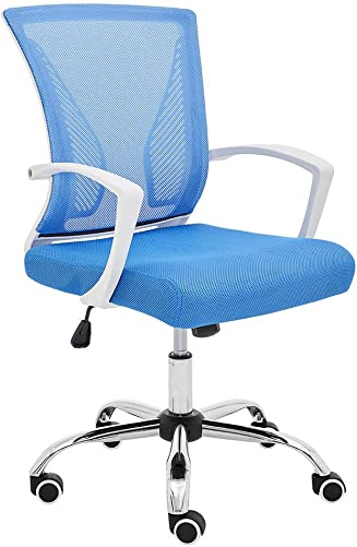 Modern Home ZUNA-WHBLUE Office Chair