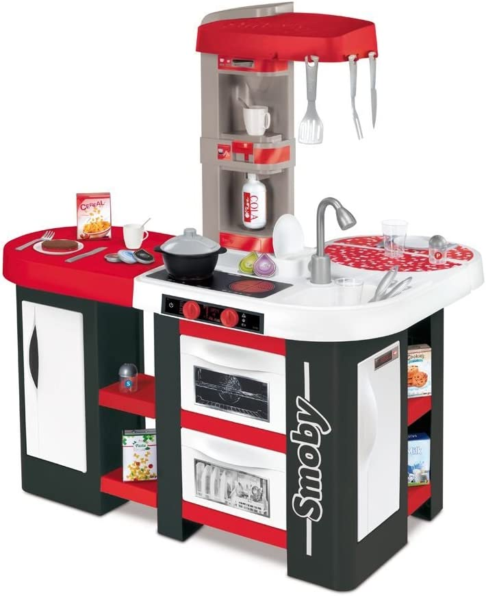Cocinita de juguete Studio XL con accesorios (Smoby 311028)