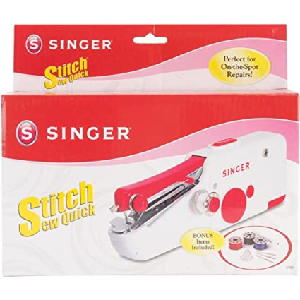 Amazon Singer Stitch Sew Quick Handheld Sewing Machine Device Gorgeous Singer Handheld Sewing Machine
