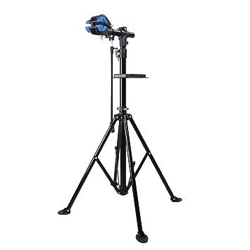 Yorbay Soporte Caballete Plegable para Bicicletas, Altura Ajustable Desde 110-200 cm, la