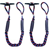 Botepon 2Pcs Boat Dock Line, Bungee Cords for Boats, Boating Gifts for Men, Boat Accessories, Pontoon Accessories, Perfect fo