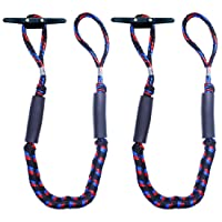 Botepon 2Pcs Boat Dock Line, Bungee Cords for Boats, Boating Gifts for Men, Boat...