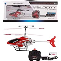 Myric Velocity Remote Control Flying Helicopter with Unbreakable Blades Infrared Sensors (Multicolour)