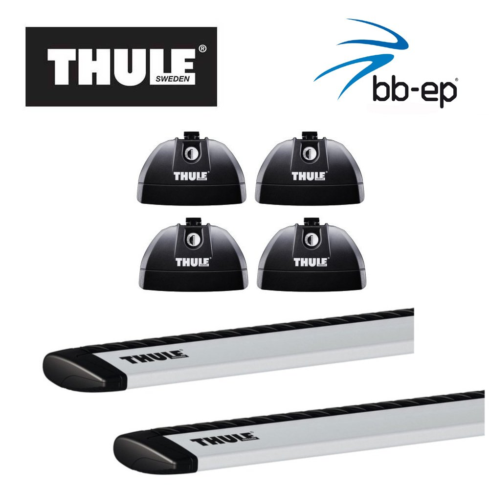 Thule/ /Barre portatutto 90435145/alluminio con nuove Traverse Sistema completo WingBar serratura inclusa per Kia Sportage con integrato barre portapacchi/ /con 1/l Kroon Oil Scree nwash III
