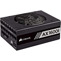 Corsair CP-9020183-AU AX1600i 1600 Watt 80 Plus Titanium Certified Fully Modular Power Supply Unit,black